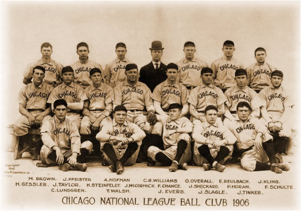 The 1906 Chicago Cubs: Best Team To Lose The World Series