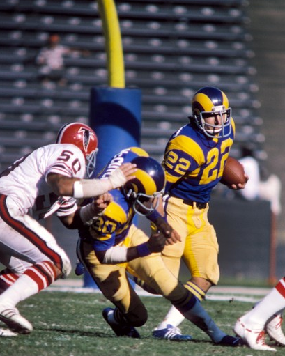 The Los Angeles Rams Spanked The Atlanta Falcons 59-0 In December Of 1976, Apparently In Front Of Few Fans