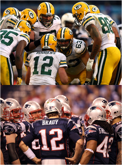 Aaron Rodgers' Green Bay Packers And Tom Brady's New England Patriots Are Looking To Continue Their NFL-Best Playoff Streak