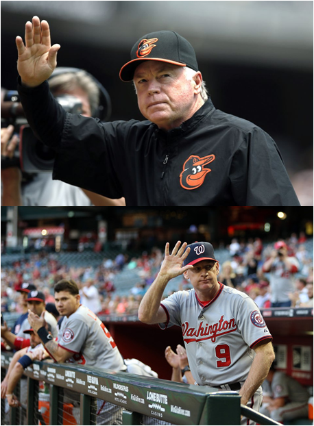 Buck Showalter Wins His Third Manager Of The Year Award; Matt Williams, His First.