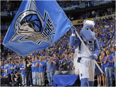 Dallas Mavericks Mascot Champ