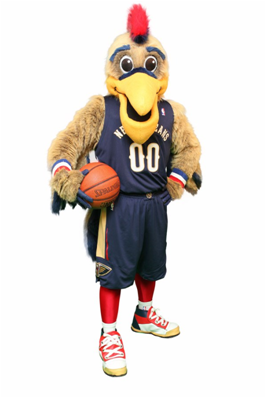 New Orleans Pelicans Mascot Pierre The Pelican