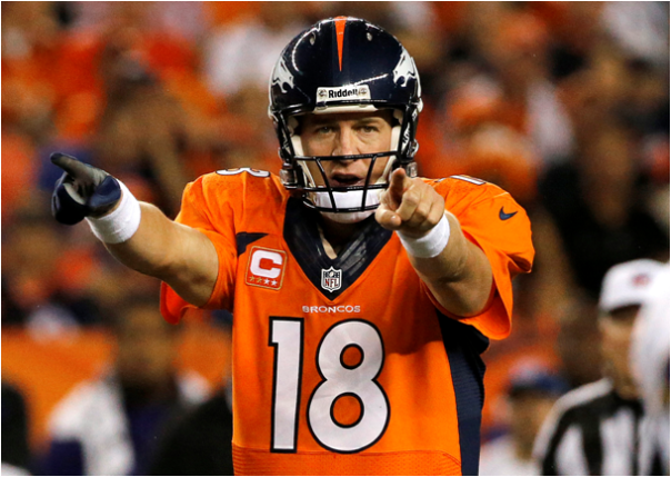 Peyton Manning Takes The Lead (Again)