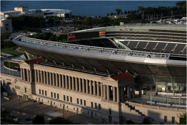 Soldier Field Is Almost 100 Years Old