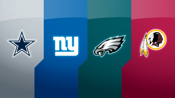 The NFC East: Dallas Cowboys, New York Giants, Philadelphia Eagles And Washington Redskins