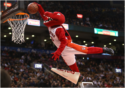 Toronto Raptors Mascot The Raptor