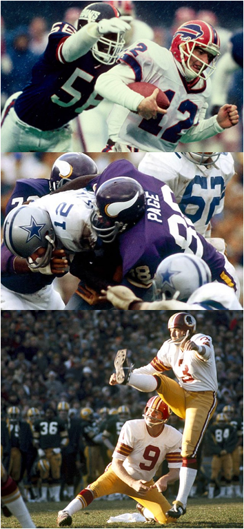 What Do The Fearsome Lawrence Taylor, Alan Page And...uh...Mark Moseley Have in Common?