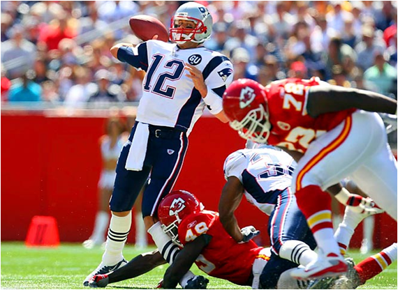 With Tom Brady Sidelined For The Season With A Knee Injury In Game 1 (Above), Matt Cassel Led The 2008 New England Patriots To An 11-5 Record - But No Postseason