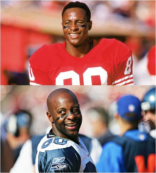 Jerry Rice, Before And After (All Of Those Games)