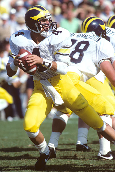 Jim Harbaugh, Michigan Quarterback Between 1983 And 1986, Is Now The Wolverine's 20th Head Coach
