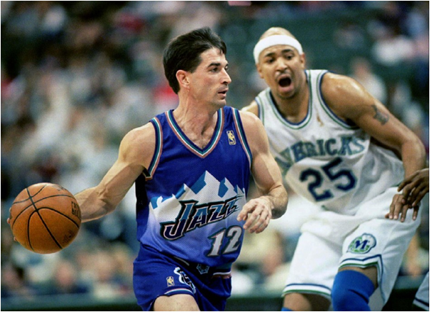 John Stockton Played More Games For One Team (The Utah Jazz) Than Anyone In NBA History