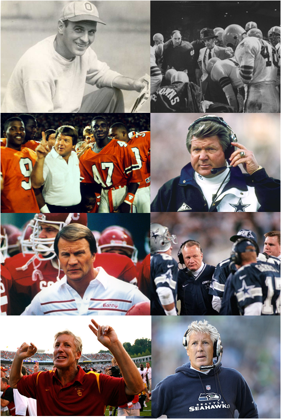The Four Head Coaches Who Won Both College And NFL Titles