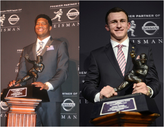 The Only Two Freshmen To Win The Heisman Trophy: Jameis Winston And Johnny Manziel