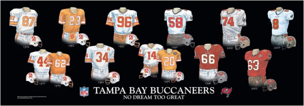 The Tampa Bay Buccaneers Lose A Lot