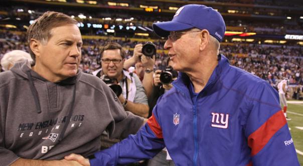 Bill Belichick And Tom Coughlin, The Longest Serving (With The Same Team) And Oldest Current Coaches In The NFL
