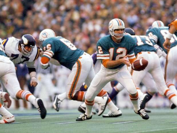 Bob Griese Threw Only Seven Passes In Super Bowl VIII - And Won!