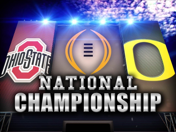 It's Ohio State Vs. Oregon For All The Marbles