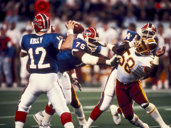 Jim Kelly Holds The Record For Most Pass Attempts In A Super Bowl (XXVI)