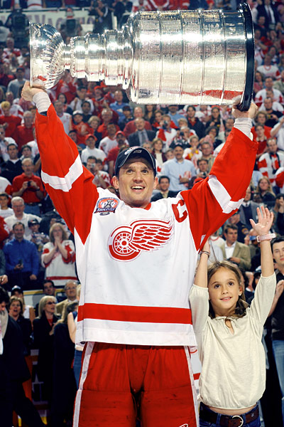 Steve Yzerman Is The Longest Reigning Captain In NHL History