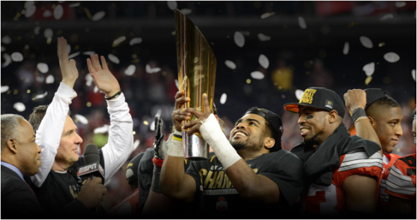 The 2014 National Champion Ohio State Buckeyes Started The Season Ranked Fifth