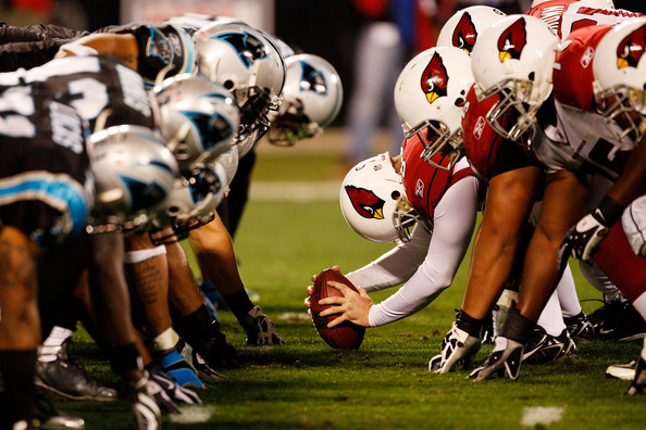 The Carolina Panthers Made Mincemeat Out Of The Arizona Cardinals Offense In The 2014 Wild Card Round