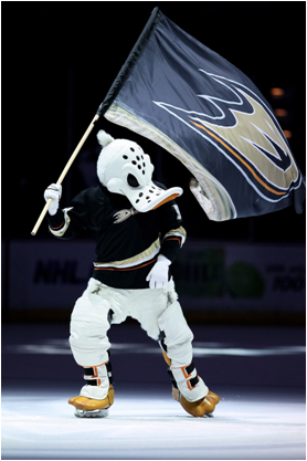 Anaheim Ducks Mascot Wildwing