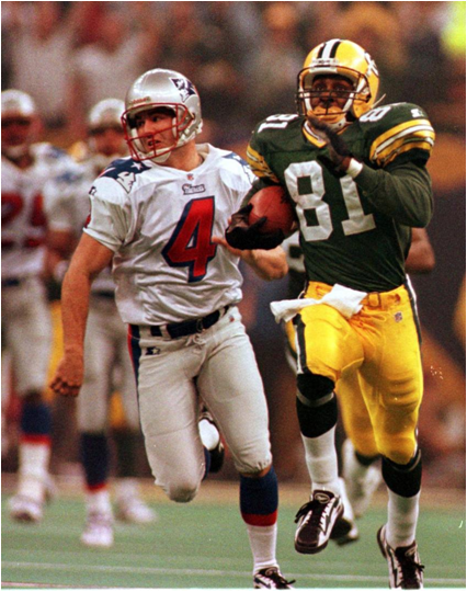 And He's Gone...Desmond Howard Returns It 99 Yards For The TD And Takes Home Super Bowl XXXI MVP
