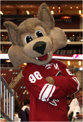 Arizona Coyotes Mascot Howler The Coyote