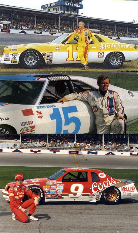 Cale Yarborough, Buddy Baker And Bill Elliott Sat Took The Daytona 500 Pole Four Times