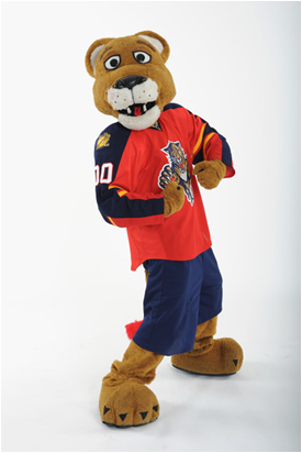 Florida Panthers Mascot Stanley C. Panther