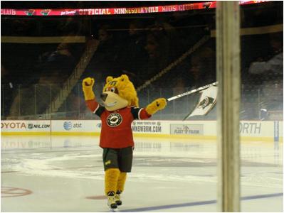 Minnesota Wild Mascot Nordy