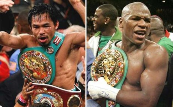 The Fight Of The Century: Manny Pacquiao Vs. Floyd Mayweather