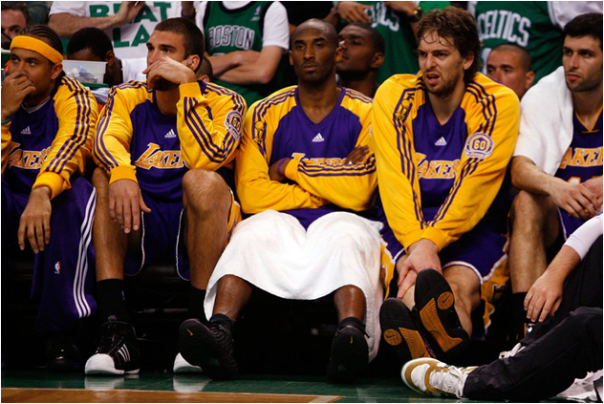 The Los Angeles Lakers Lost Their 15th Finals In 2007-08, Most Of All