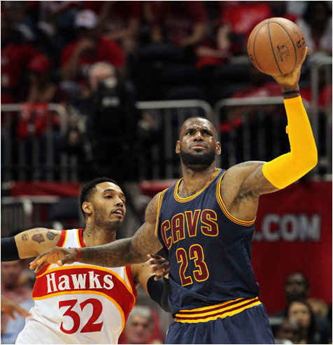 LeBron James Led The 2014-15 Cleveland Cavaliers To The Fifth Sweep In Eastern Conference Finals History