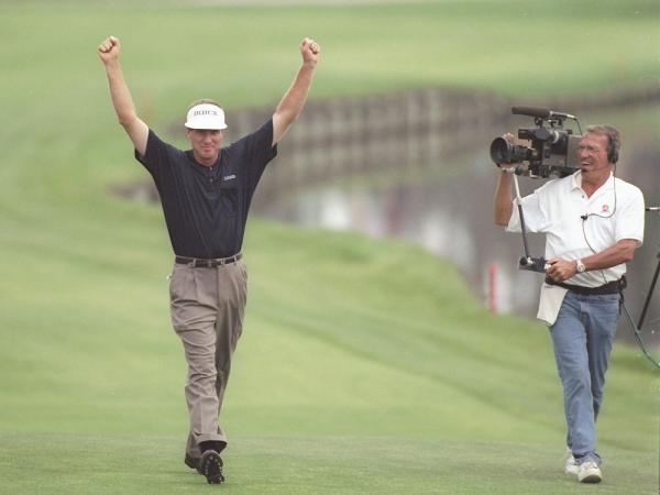 Steve Elkington Wins The Players Championship In 1997
