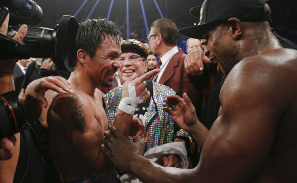 Manny Pacquiao And Floyd Mayweather Combined To Make Almost Half A Billion Dollars