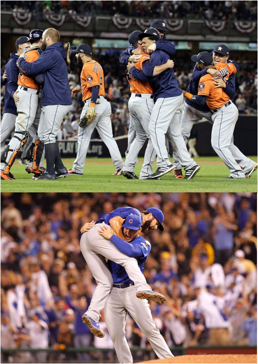 The Houston Astros And Chicago Cubs Win Their Respective 2015 Wild Card Games